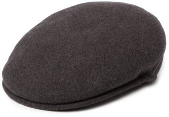 ✓ Wool Kangol 504. I have one in black and charcoal.