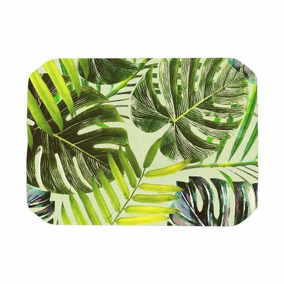 "Alison Coxon ""Jungle Green"" Green Yellow Place Mat"