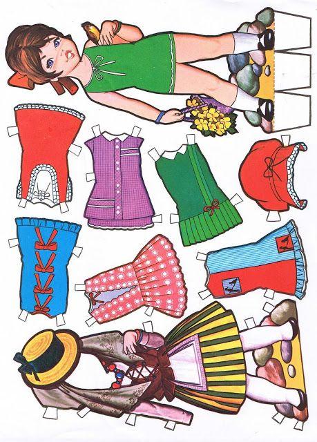 (⑅ ॣ•͈ᴗ•͈ ॣ)♡                                                             ✄Paper Doll muñecas recortables - Carmen m. p, - Picasa Albums Web