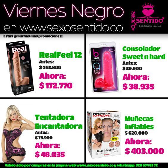 #ViernesNegro !!! Compra hoy productos con grandes descuentos! no te pierdas estas y muchas mas ofertas en http://sexosentido.co/tienda/ descuentos en #vibradores #consoladores #lenceria #lenceriamasculina #aceitescalientes #potenciadores y muchísimo mas!, envíos a toda #Colombia promociones validas solo por compras en la pagina web y whatsapp: 320 674 85 72