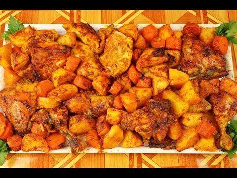 الذ واطيب تتبيلة لدجاج مشوي ب 3 طرق في كيس حراري بالفرن و على الفحم مع رباح محمد Youtube Sweet Potato Food Vegetables