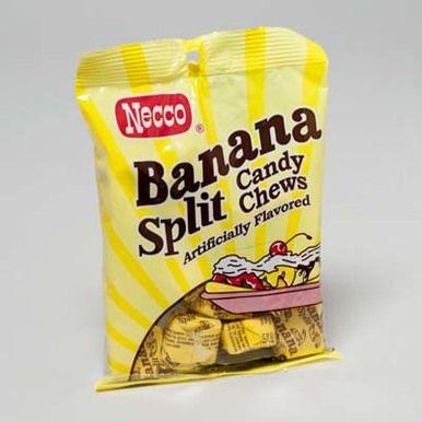 Banana Split Chews - 5 Ounce Bag Case Pack 12