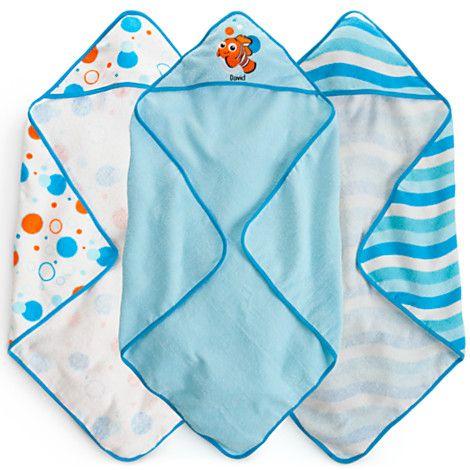 Finding Nemo Hooded Towel Set For Baby   Personalizable | Bath Accessories  | Disney Store | Oh, BaBy! | Pinterest | Cuarto Bebe, Pecas Y Caminos
