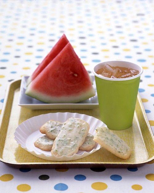 Lime-Glazed Cookies - Martha Stewart Recipes
