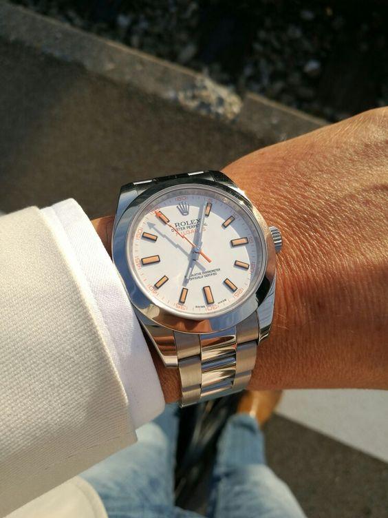 White Rolex Milgauss