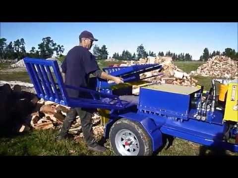 Raptor Promo Video Youtube Log Splitter Promo Videos Hydraulic Log Splitter