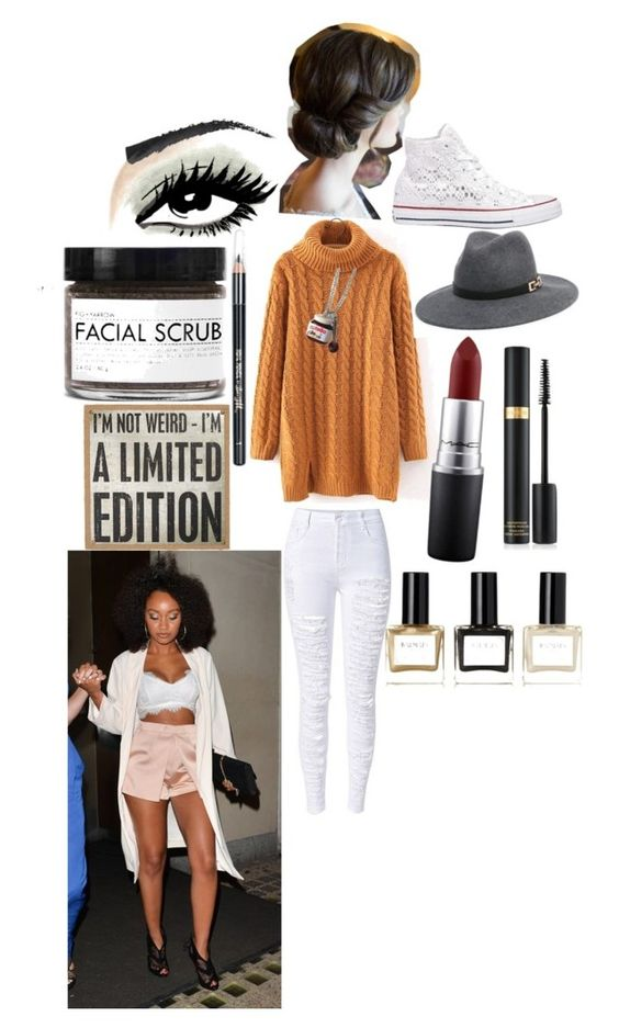 """Going to eat after a live show with Leigh-anne"" by ashleydirectioner2 ❤ liked on Polyvore featuring Converse, Bebe, MAC Cosmetics, Balmain, Barry M, Fig+Yarrow and Primitives By Kathy"
