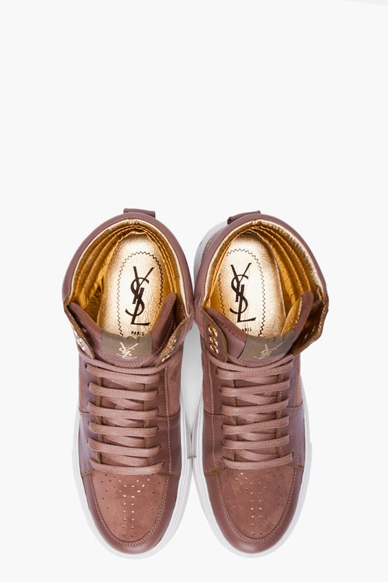High Top Sneakers by YSL