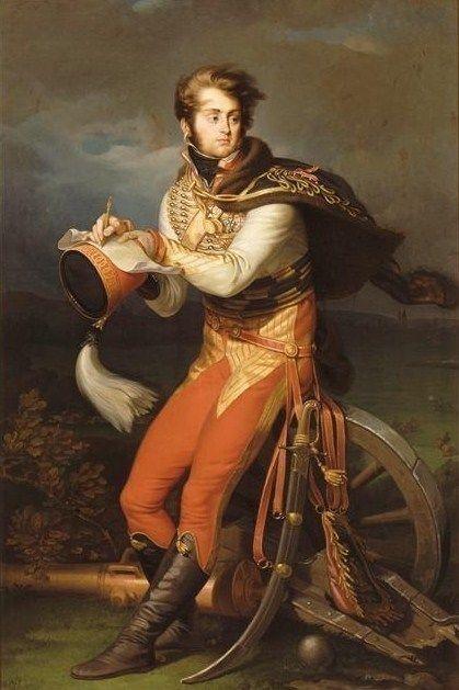 Portrait de Louis-François, baron Lejeune by Jean-Urbain Guérin.