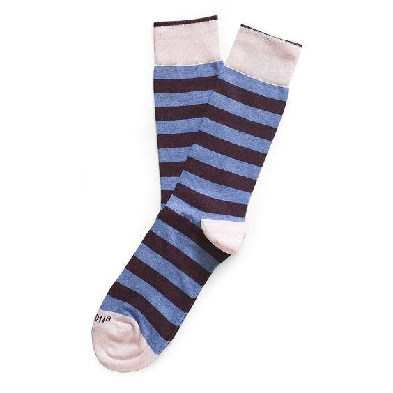 rugby stripe  mens italian socks   etiquette clothiers