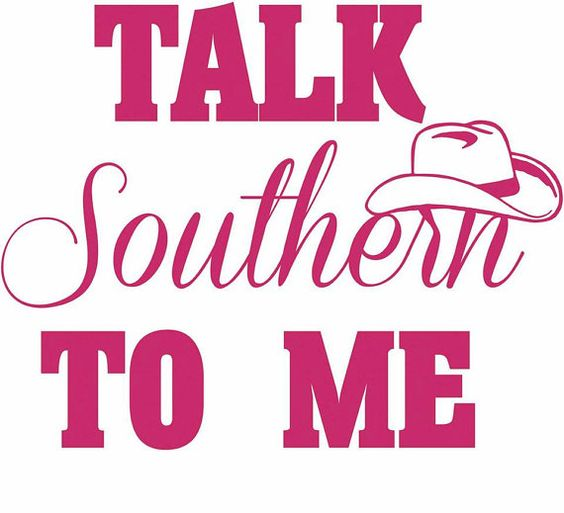 Talk Southern To Me Decal For Car Laptop Or By IdealImprints - Truck windshield decals   how to purchase and get a great value safely