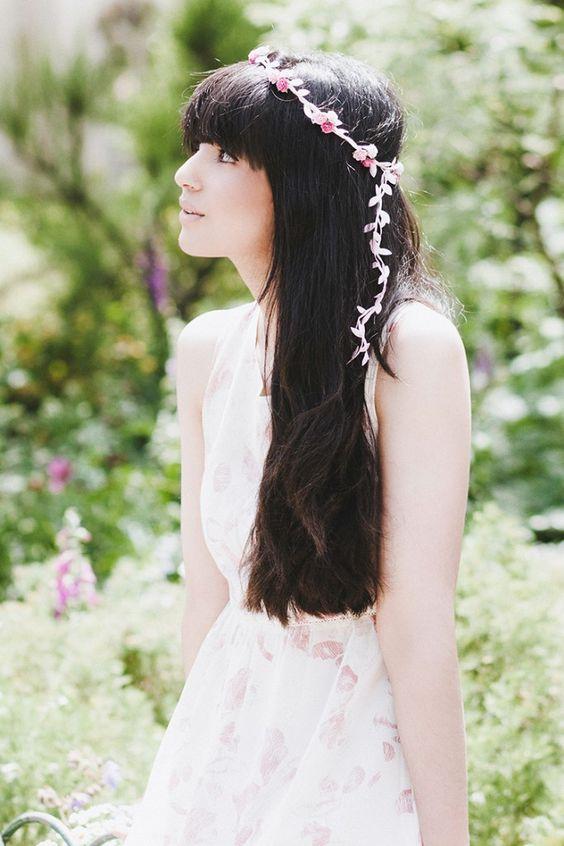 #flower #headband #hair