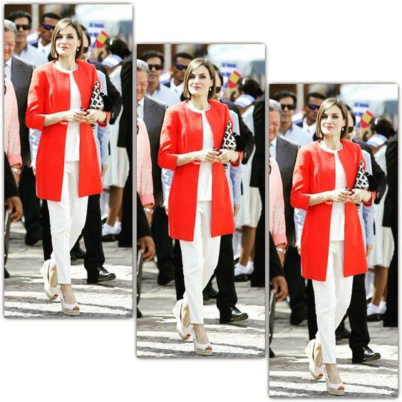 La Reina Letizia de visita oficial en Honduras. 26.05.2015