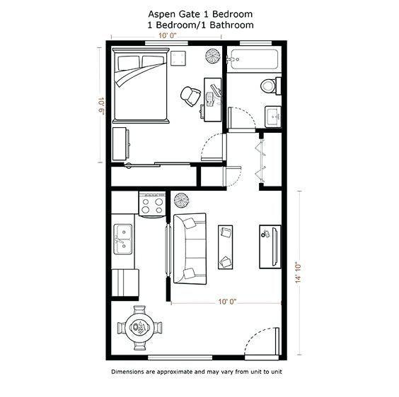 62 Most Popular 2 Bedroom Basement Apartment Ideas In 2020 Small Apartment Plans Studio Apartment Floor Plans Cabin Floor Plans