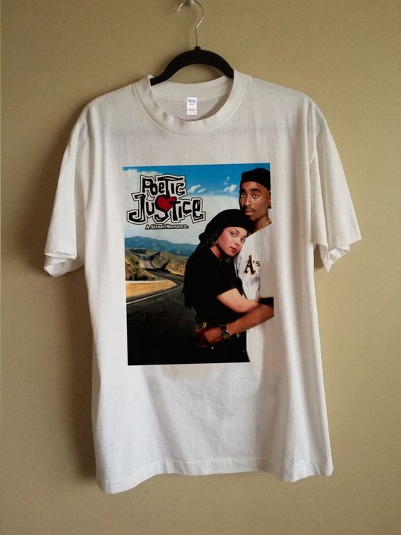 Poetic Justice Movie Poster T Shirt Znf08 Print Clothes Shirts Justice Movie
