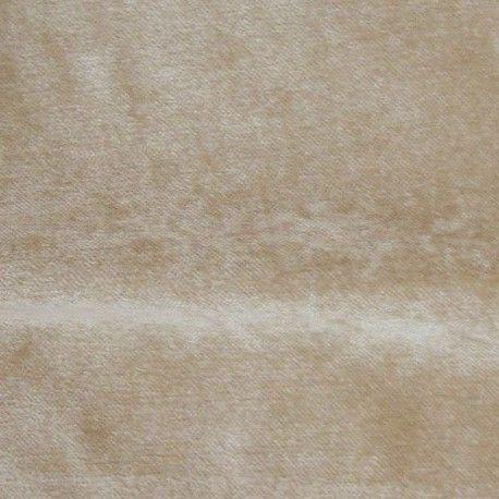Cosy Tissu ameublement velours lavable reversible L.280cm beige A611.06 le metre