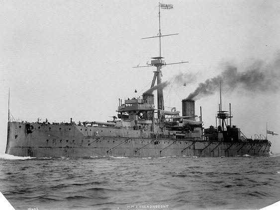 HMS Dreadnought - 1906: