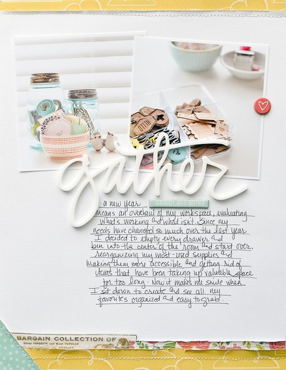 Get It Together   Layout by Peppermint Granberg