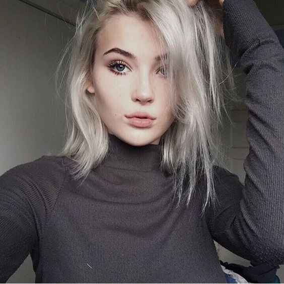 Amazing Grunge Hair Alternative Girls And Silver Hair On Pinterest Short Hairstyles For Black Women Fulllsitofus