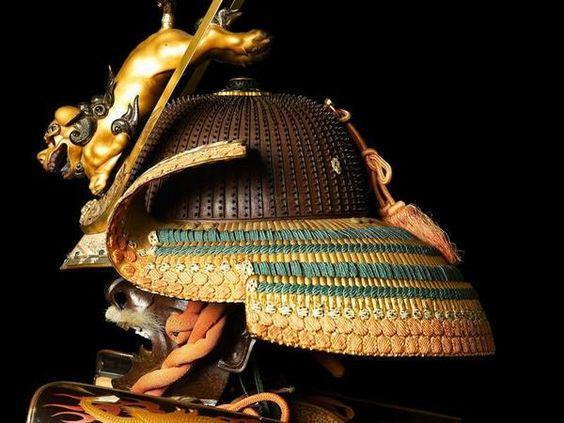 Ceremonial suit of armour for a samurai (front). (Ashmolean Museum, University of Oxford).
