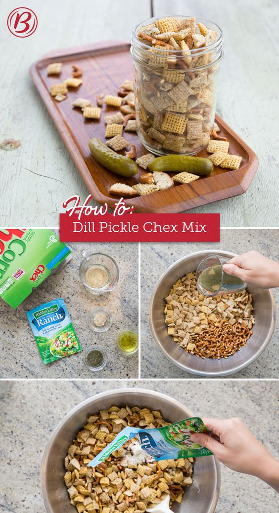 Dill Pickle Ranch Chex™ Mix Recipe We, This summer and