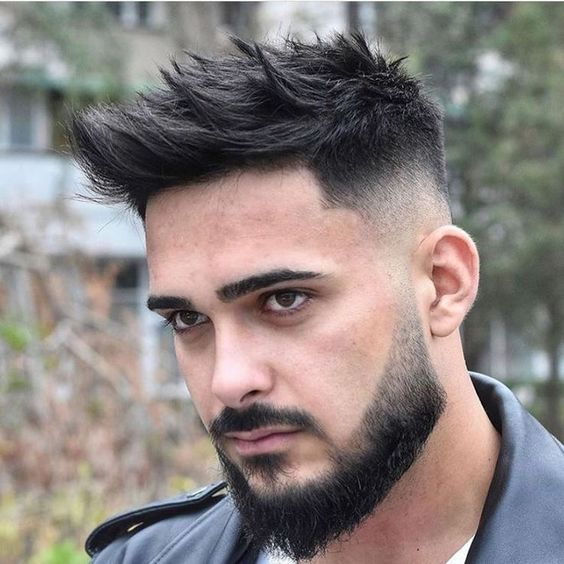 hairstyles for black guys with beards
