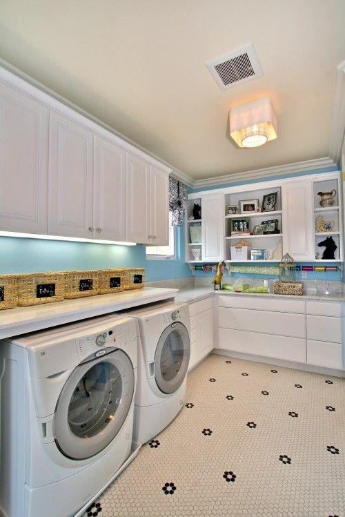 Diseño de lavadero, Envoltura de regalos and Debajo del gabinete ...