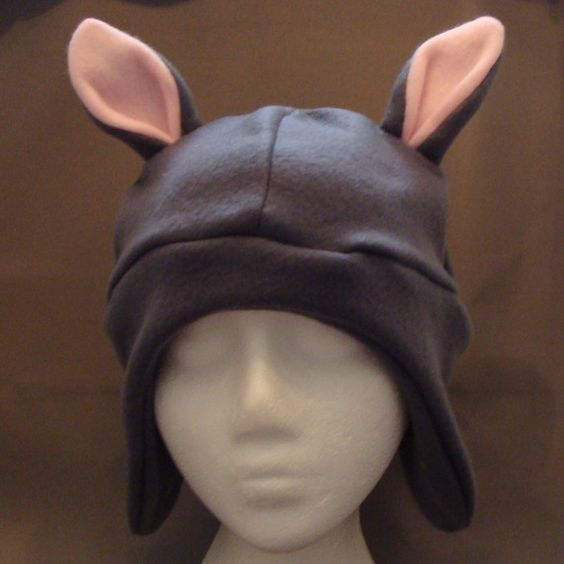 Squirrel Animal Fleece Hat (Halloween Costume)