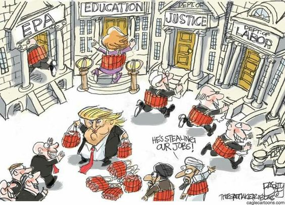 Sums up Trumps Cabinet.
