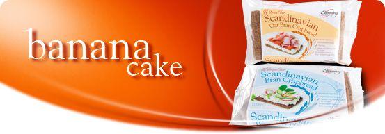 Scan Bran Banana Cake Recipe