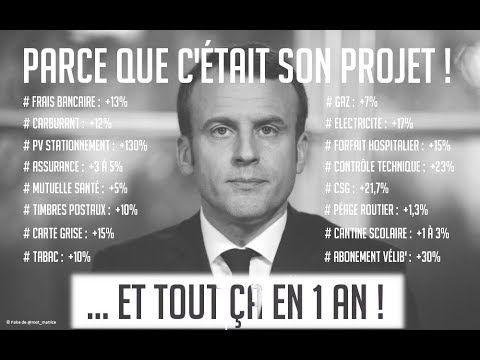 Blocage 17 Novembre Macron Finira Pas Son Quinquennat