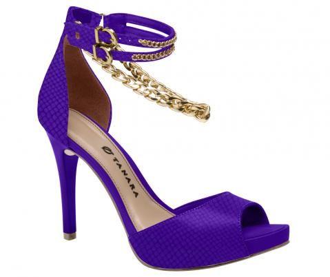 Sandália azul!