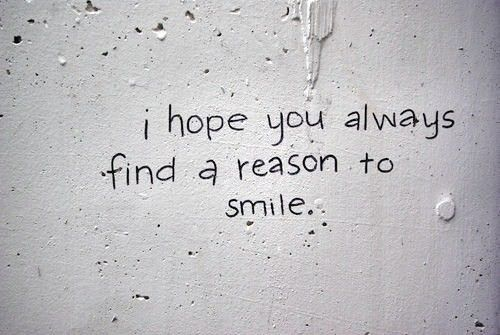 to everyone who looks at my pins- always smile. smilings MY favorite ;)