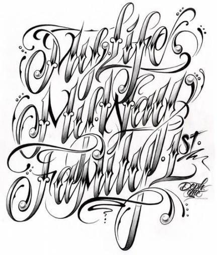 Pin By Mike Sevilla On Handlettering In 2020 With Images