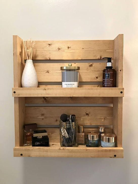 30 Creative Diy Wall Shelving Ideas With Images Bathroom Wall