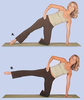 Get the gap between your thighs ... 10 reps each leg, three times a week ... See a difference in just six weeks.