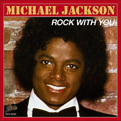 Michael Jackson – Rock with You (single cover art)