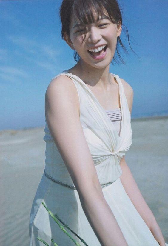 満面の笑顔の渡邊理沙