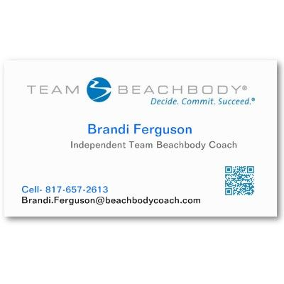 Business Card For Beachbody