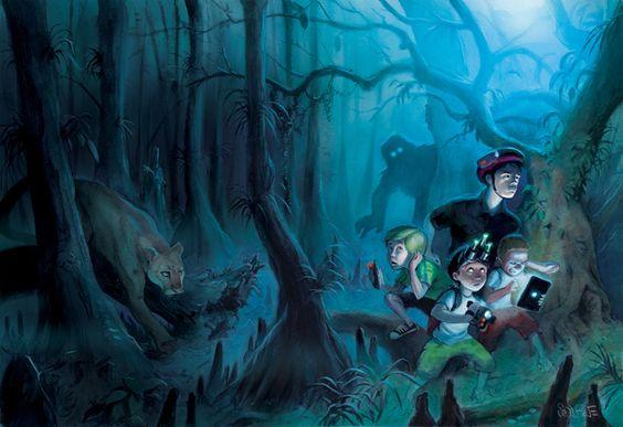 Monster Hunters: Searching for Skunk Ape by Scott Brundage, via Behance