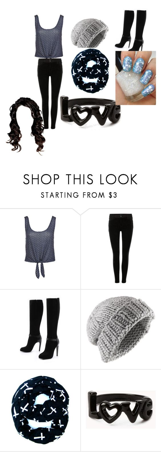 """""""Abi's creat"""" by ppppets ❤ liked on Polyvore featuring J Brand, COSTUME NATIONAL, Jigsaw, Forever 21 and INDIE HAIR"""