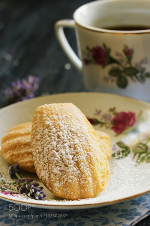 Homemade Madeleines / French Tea cake  selective focus by vrindamahesh2002  IFTTT 500px
