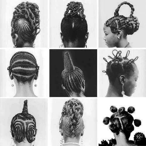 Super Two Braids African Style And Traditional On Pinterest Hairstyle Inspiration Daily Dogsangcom