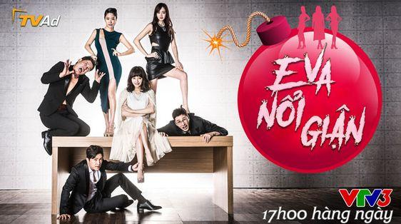 Phim Eva Nổi Giận Hàn Quốc VTV3