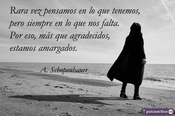 ▷ 70 frases de Arthur Schopenhauer 【PsicoActiva 2019 】