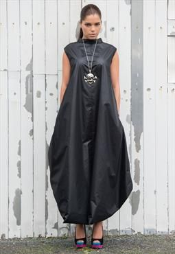 Oversize maxi dress