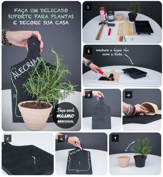 Ideal para decorar a sua cozinha, área de serviço ou varanda  DIY  Pinterest # Decorar Cozinha Diy