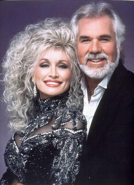 Dolly Parton & Kenny Rogers)  http://abcnews.go.com/GMA/video/kenny-rogers-dolly-parton-reunite-duet-20287552