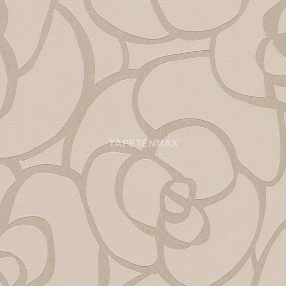 94027-9 Raffi my home - livingwalls Vliestapete Muster hellbraun