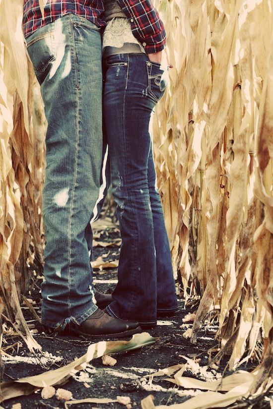 engagement at harvest time
